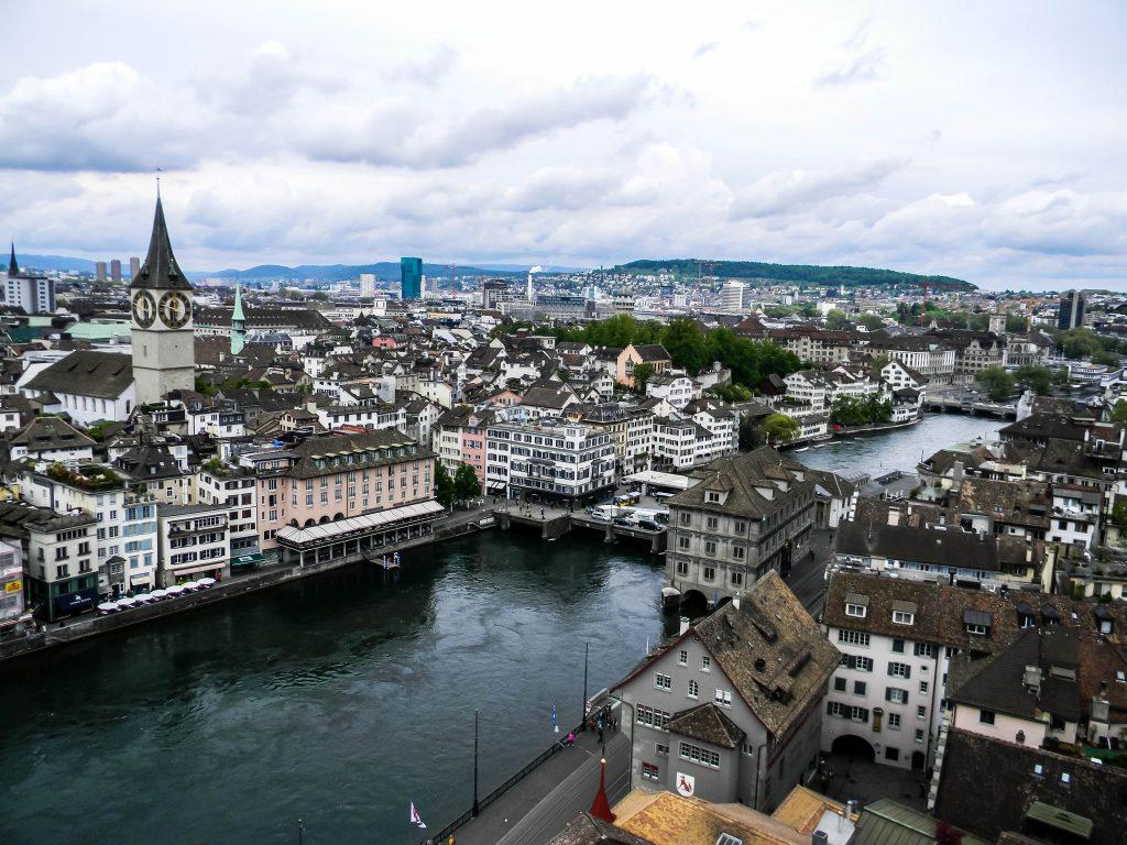 Zurich, Switzerland - Grossmunster View