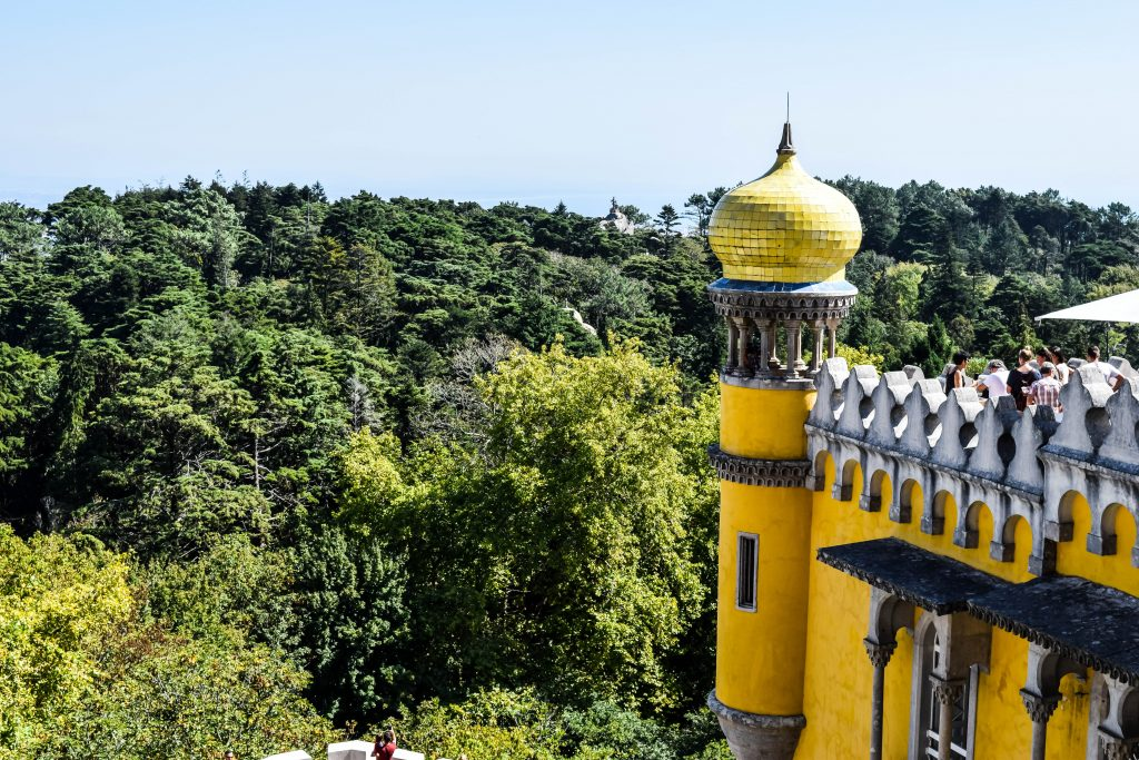 View from Pena Palace - Things to do in Sintra - Sintra Sites