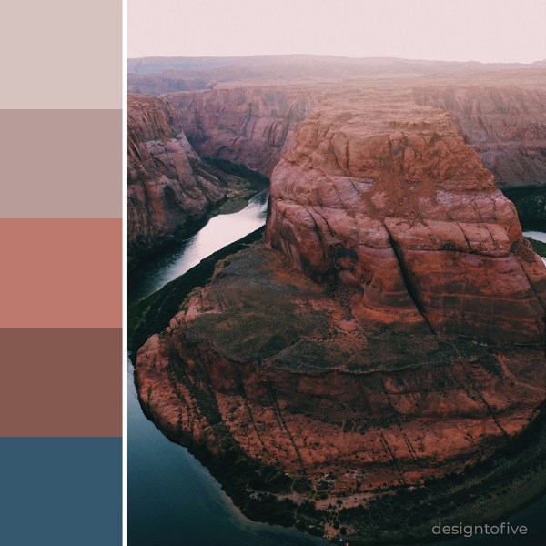 Canyon - Inspiration Color Palette - Canyon Clay SW 6054
