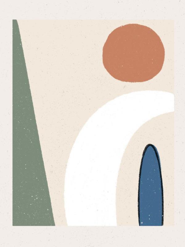 Walker Noble Studios - Take Five - Abstract Art Prints