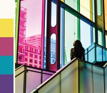 Designtofive - Pantone 13-0647 TCX Illuminating Yellow Color Palette- Palais des Congres - Inspiration - Blog Post