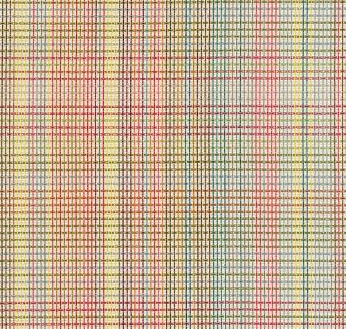 Rainbow Plaid Textile - Muilti-colored Plaid Pattern - Knoll Textiles - Plaidtastic - Technicolor