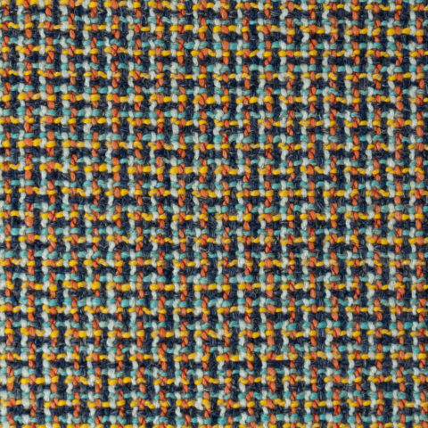 Multi-colored woven Upholstery Luna - Three-D - Telly