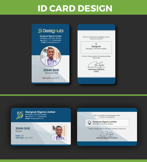 small resolution of an incredibly innovative and professional looking id card