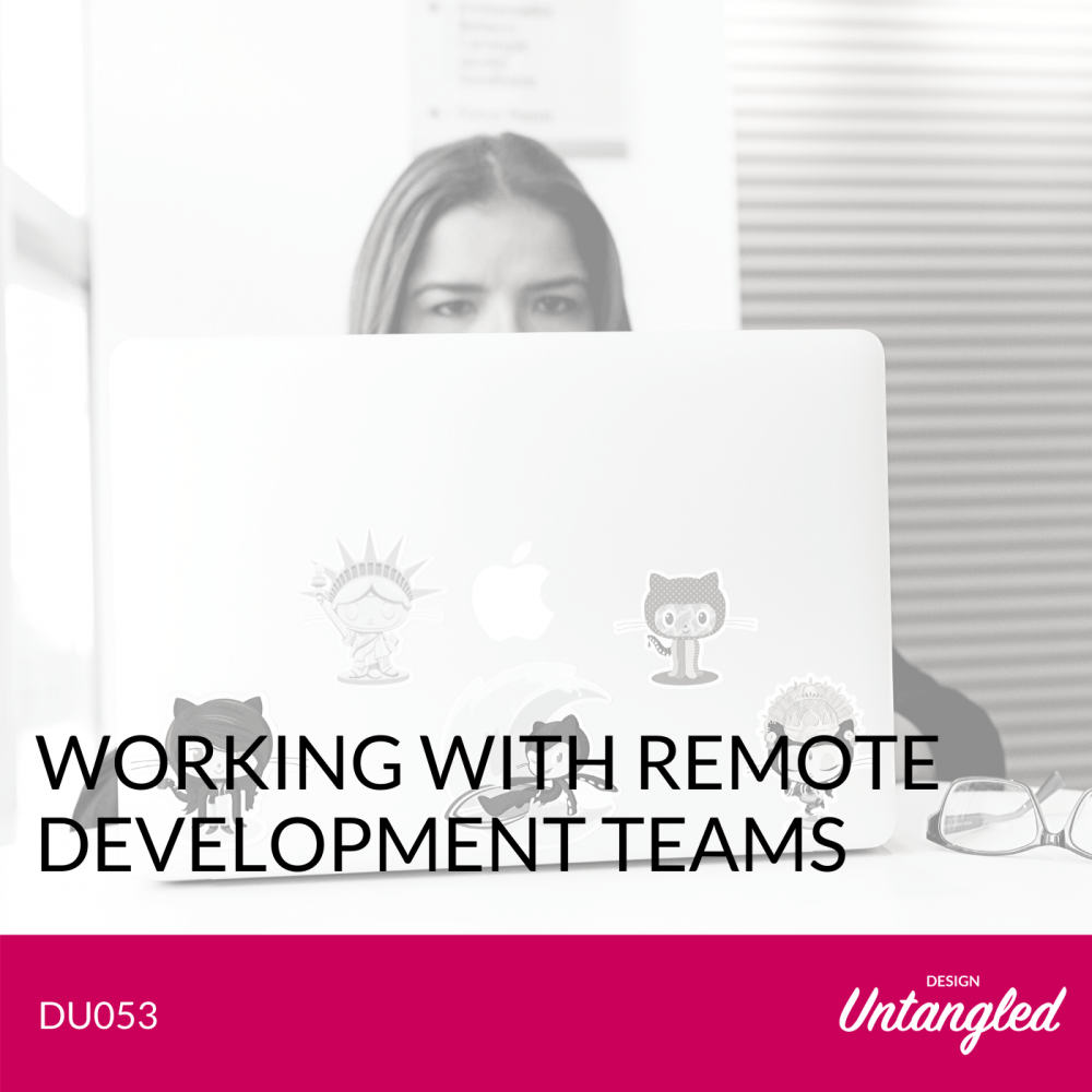 DU053 - Working with Remote Development Teams