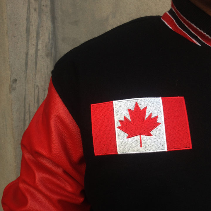 custom-varsity-jackets-black-wool-and-red-leather-embroidery-front