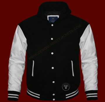 Letterman Jackets with Hood