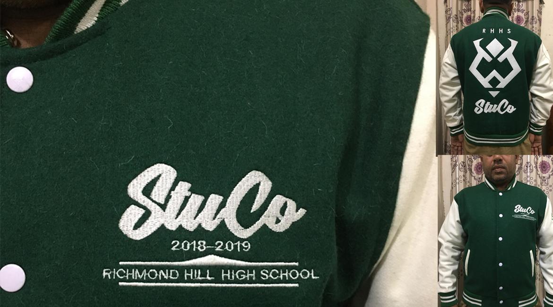 High School Varsity Jackets.