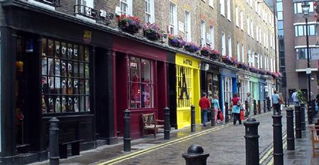 london shops marshall street