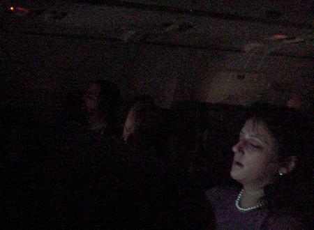 jetblue screens people asleep