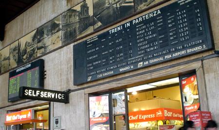 florence ticker train station