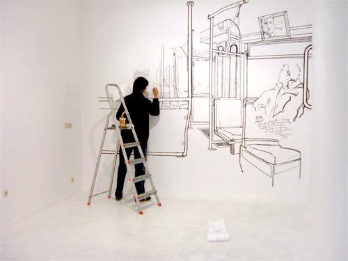 Michal Tatarkiewiczs subway drawings