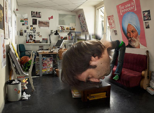 Christophe Huet big head design process