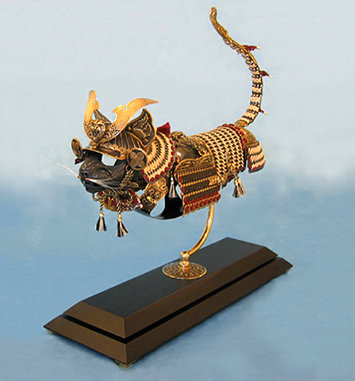 jeff deboer cat armor samurai