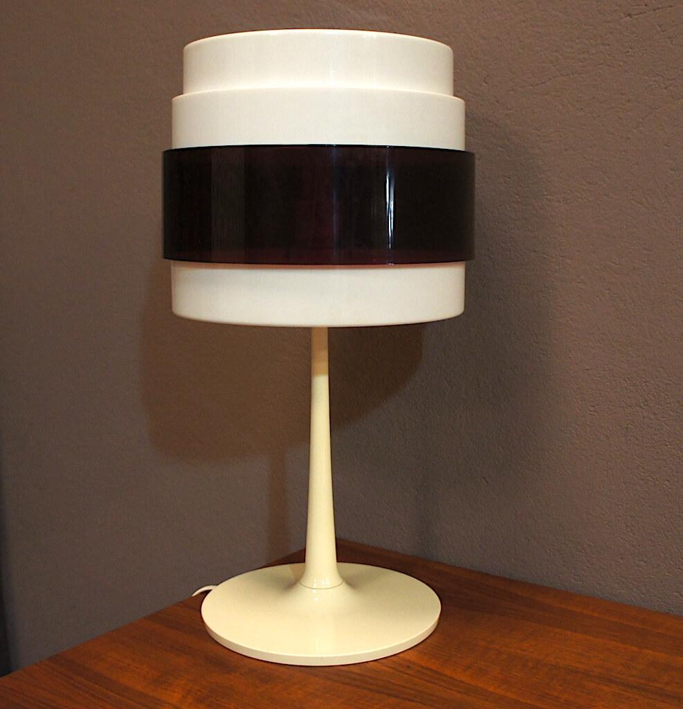 lampe champignon vintage magnus eleback carl ojerstam 1970