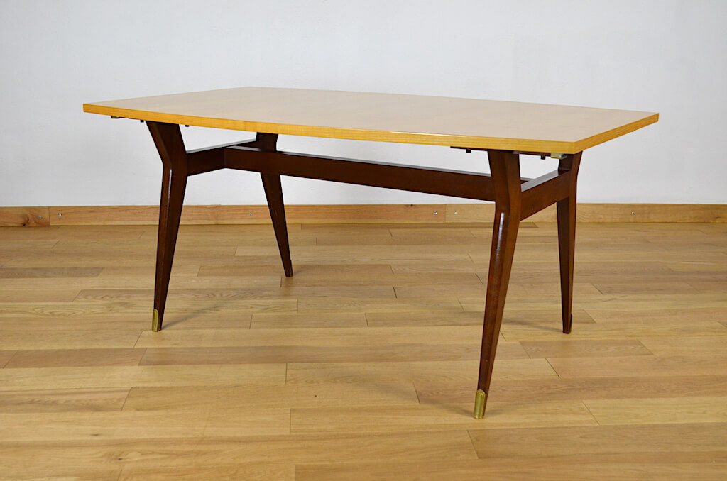 table vintage meubles sam pieds
