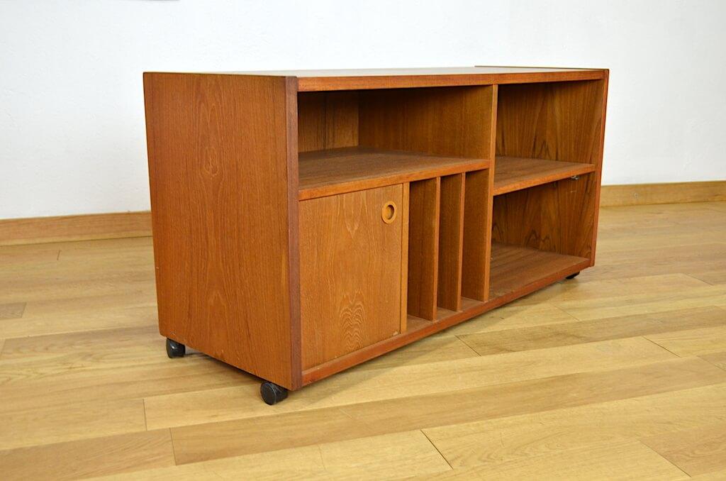 meuble hifi tv en teck design