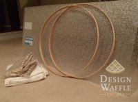 DIY Chandelier Drum Shade | Design Waffle