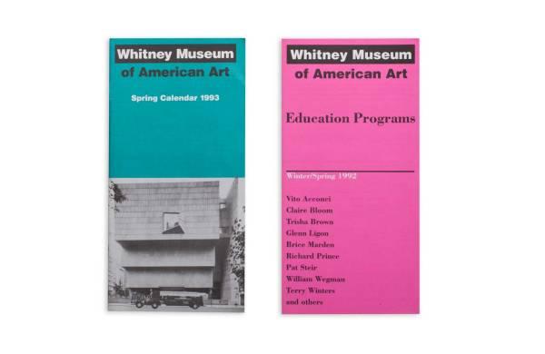 Whitney Museum - Designwajskol