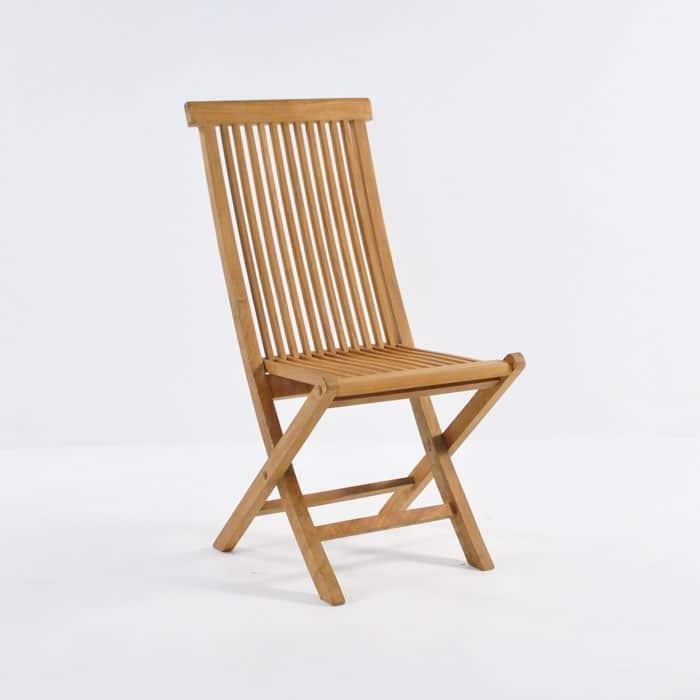 Finger Teak Folding Chair  Design Warehouse NZ