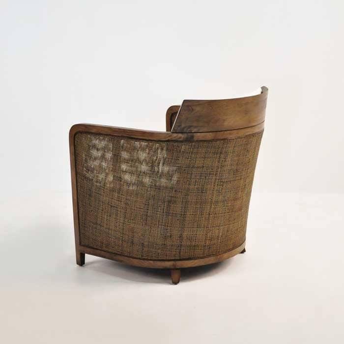 Hugo Indoor Wicker Chair  Sheltered Furniture  Design