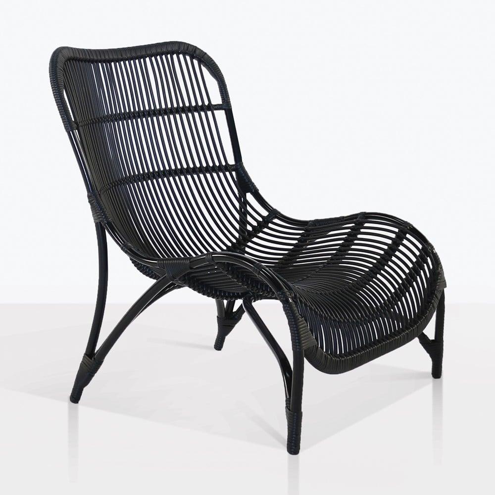 elle outdoor wicker relaxing chair patio furniture design warehouse nz