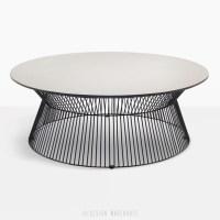 Deco Round Patio Coffee Table (White Sand) | Design ...