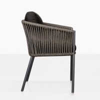 Washington Rope and Aluminum Outdoor Dining Chair