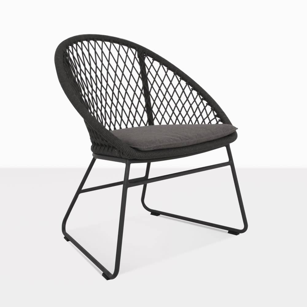 Woven Dining Chair Zaha Outdoor Dining Chair Cross Weave
