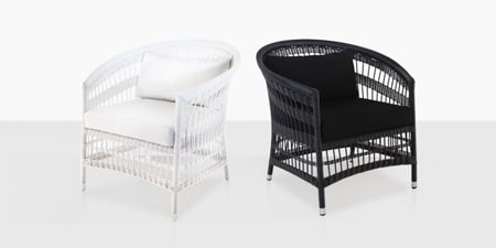 outdoor wicker chairs nz bedroom desk chair ikea design warehouse furniture teak outside seating black and white