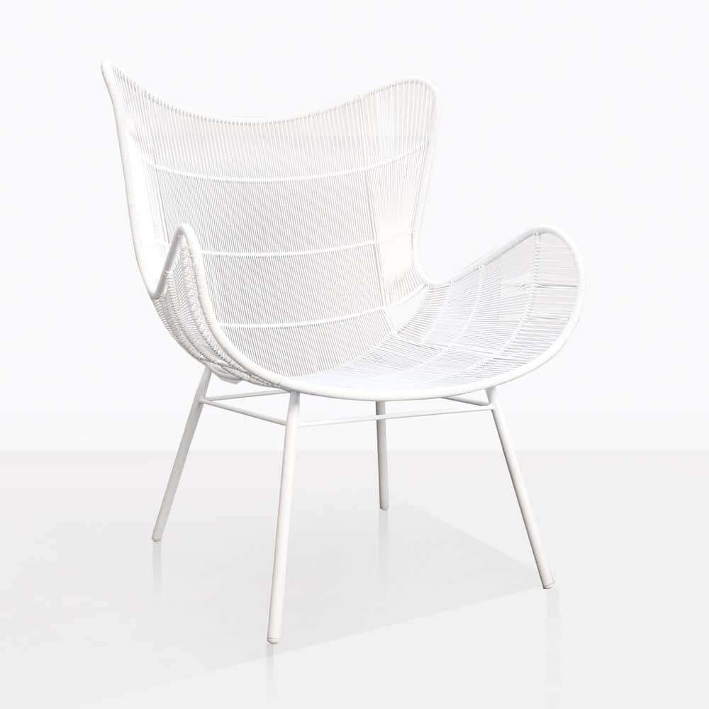 White Wing Chair Nairobi Wing Relaxing Chair White