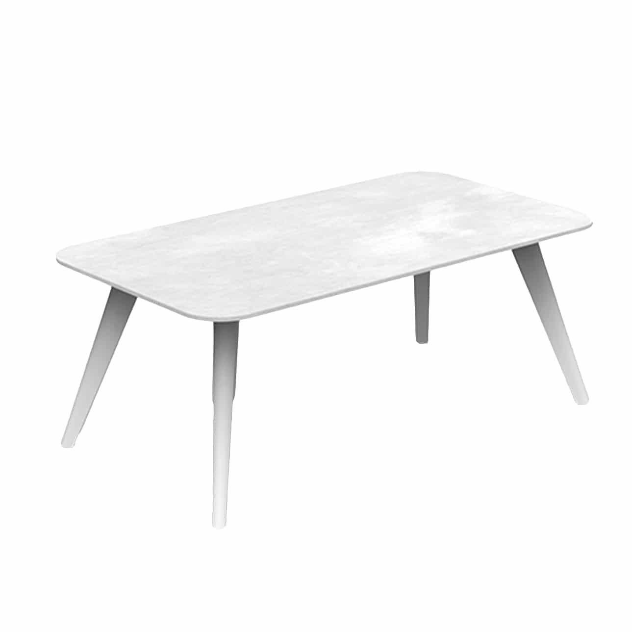 kove outdoor aluminium white coffee table design warehouse nz