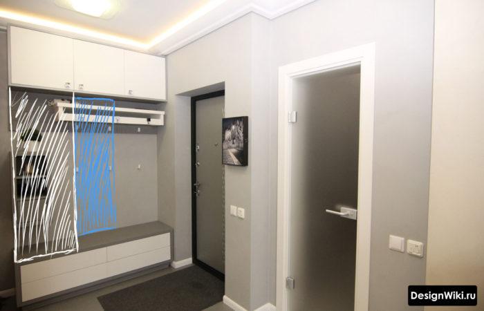 дизайн коридора в квартире фото реальные в панельном доме 6
