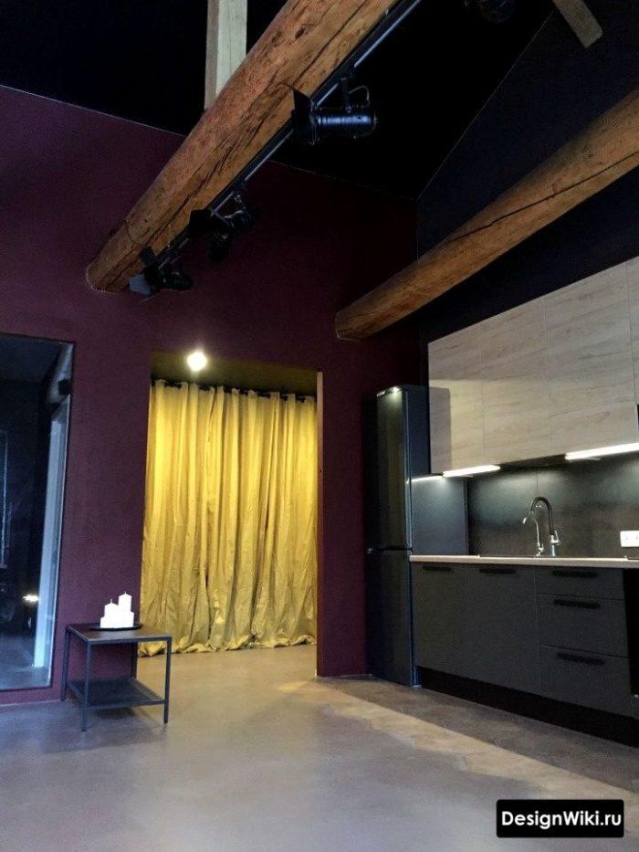 Köksdesign i loftstilblandningar och högteknologiska