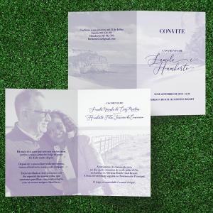 Casamento Samila e Humberto - convite