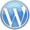 Custom WordPress Web Design by Rick Cano | WordPress Logo