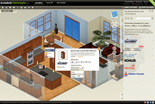 Autodesk Launches Easy-to-Use, Free 2D And 3D Online Home