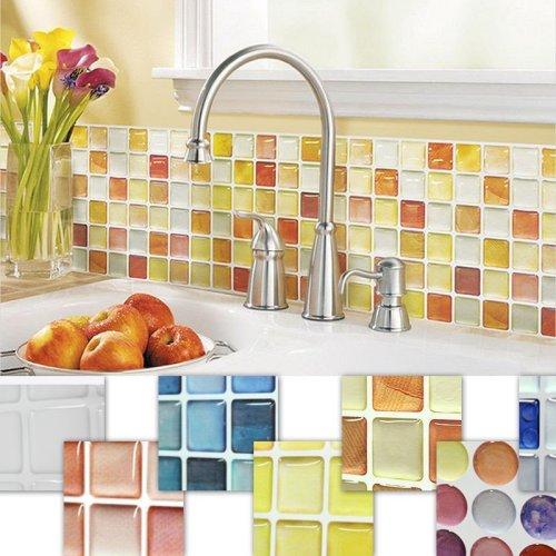 3D wallpaper kitchen wall