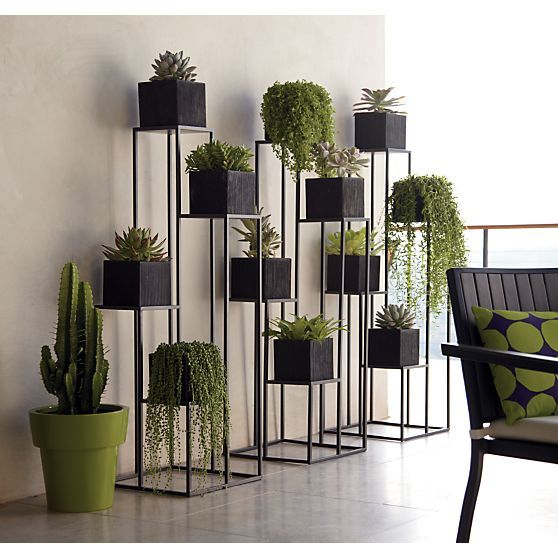 Metal Decorative Planters