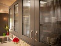 Glass cabinet shutter for your modular kitchen
