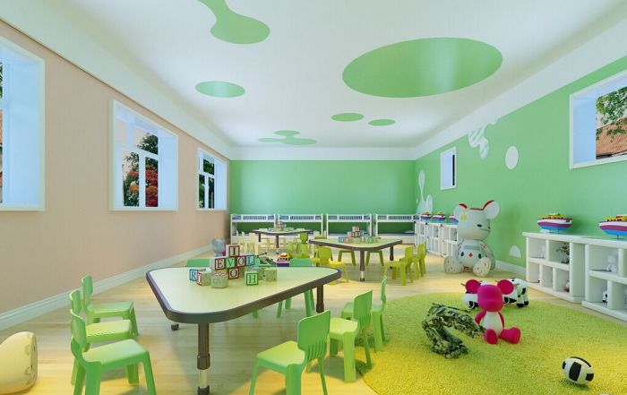 kindergarten play school classroom interior design
