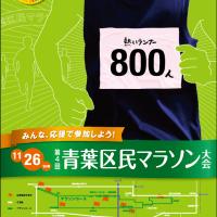 青葉区民マラソンポスター