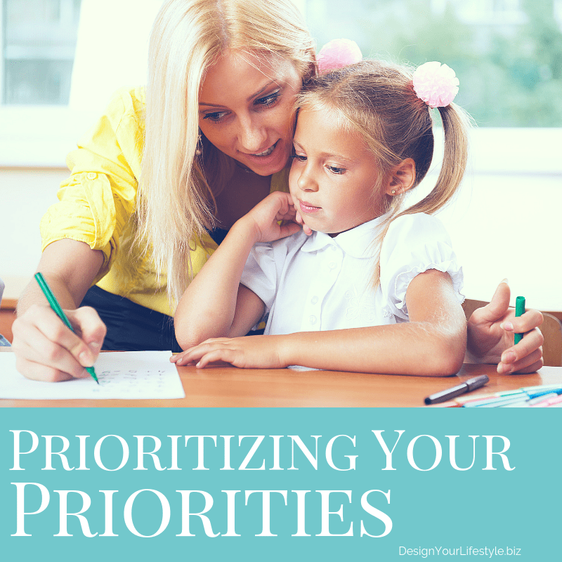 Designing Your Life - Setting Priorities in Life