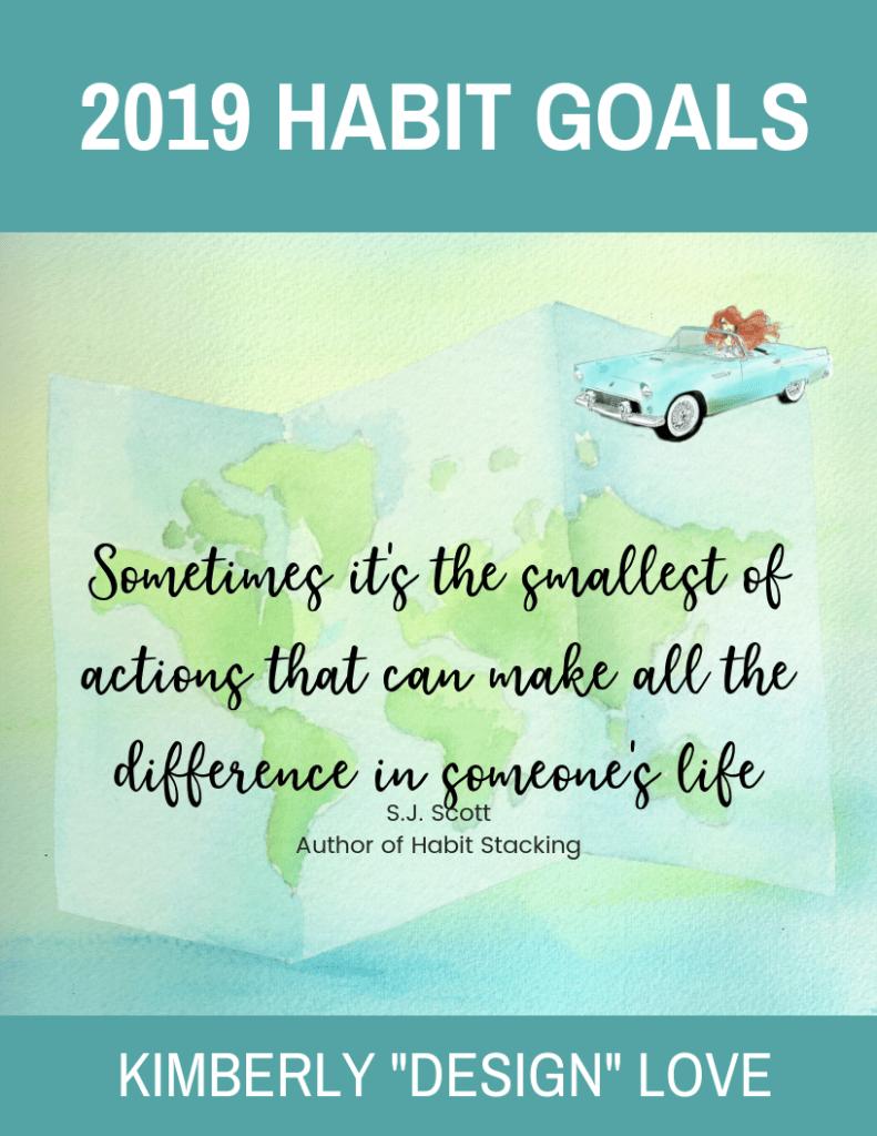 Habit Goals 2019