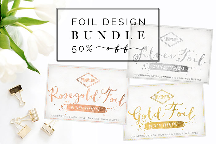 Tutorial: How to add a golf leaf or glitter texture to your blog graphics. Add it to text, shapes, icons or patterns! Super easy!! Plus download my free gold foil and gold glitter social media icon sets! Rose Gold Silver Foil Bundle by Summit Avenue. Check it out on www.designyourownblog.com!