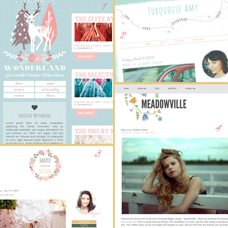 Ditch The Mullet! 9 Hot Design Trends To Bring Your Blog