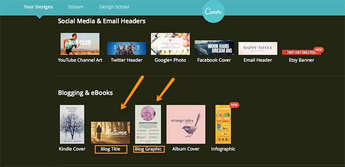 how to create title images for your blog posts