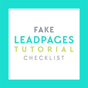 Free Download: Offer Content Upgrades with this tutorial + checklist to create a FREE fake LeadPages landing page sequence using WordPress and ConvertKit! Get this and more free goodies at www.DesignYourOwnBlog.com
