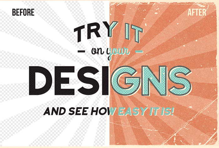 Hand Drawn Design Trend in the Digital Designer's Artistic Toolkit. Vintage Comic Creator from The Artifex Forge. Find more on www.DesignYourOwnBlog.com