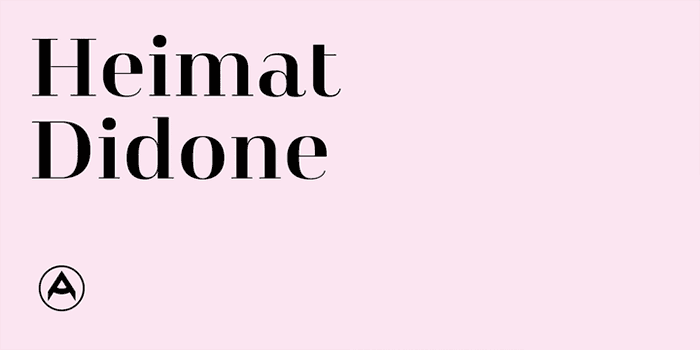 Heimat Didone by Atlas Font Foundry, a classic didone font that looks great in fashion and magazine style blogs. One of the font types I recommend for feminine designs in this roundup of 9 feminine font trends for 2016.